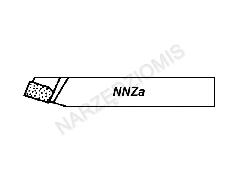 Rysunek techniczny:Noże tokarskie proste - prawe